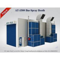 Buy cheap AT-1500L 15m Bus Spray Booth,Semi Downdraft Spray Booth,china paint booth manufacturer from wholesalers