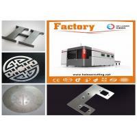 4KW 6KW 8KW 10KW Fiber Laser Cutter Machine For MildSteelPlate And All Metals