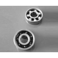 Buy cheap Low Friction Single Row Hybrid Ceramic Bearings / Ceramic Skate Bearings from wholesalers
