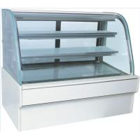 Buy cheap Big Capacity Cake Display Freezer Toughened Glass Wooden Frame 920W from wholesalers