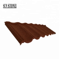 Buy cheap Low price continuous metal steel roofing sheet price wholesale stone coated corrugated roofing sheet for roofing price from wholesalers