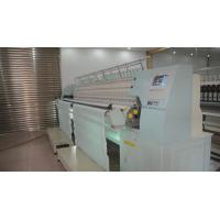 Buy cheap High Speed Single Roll Computerized Quilting Machines Multi Head With Embroidery Function from wholesalers