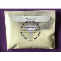 Buy cheap Supply CAS 62-44-2 Local Anesthetic Drugs Phenacetin Raw Powder 99.5% Assay from wholesalers