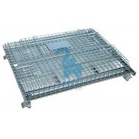 Buy cheap Heavy Duty Collapsible Wire Mesh Storage Cages For Metal Tools from wholesalers