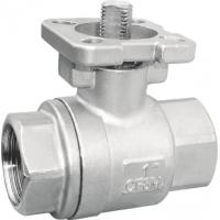 Buy cheap 1/4 - 4 ISO 5211 Ball Valve with Threaded End , Manual or Actuator Floating Ball Valves from wholesalers