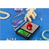 Buy cheap Pocket scale with Big LCD Green backlight from wholesalers
