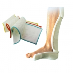 Buy cheap Moldable Waterproof Medical Orthopedic Fiberglass Splint Foot Drop Splint from wholesalers