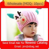 Buy cheap 2015 hot sale baby knitting hat from wholesalers