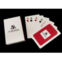 Buy cheap 100 Percent PVC Plastic Playing Cards , Washable Jumbo Index Poker Playing Cards from wholesalers
