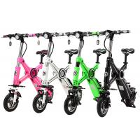 Buy cheap Lithium Battery 36V Two Wheel Electric Bike , Foldable Electric Bikes For Adults from wholesalers
