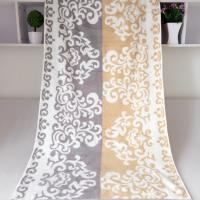 Buy cheap Rectangular Royal Velvet Cotton Bath Towels Reversible Solid Dyed Dobby from wholesalers