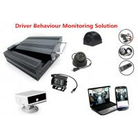 Buy cheap HHD 4Ch 3G GPS Vehicle Security Camera System Support Driver Fatigue Monitoring from wholesalers