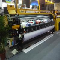 Buy cheap 190 square meter per hour Konica 512i head large format solvent printer 3.2 meter flex banner printing machine from wholesalers