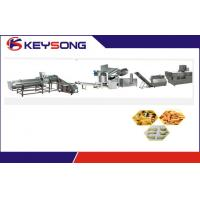 Buy cheap Automatic Fried Food Processing Machinery , Corn Curls Machine from wholesalers