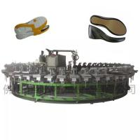 Buy cheap Desma type pu footwear leather sandals and slippers making machine from wholesalers