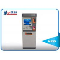 Buy cheap Touch ATM kiosk floor standing payment terminal with cash deposit acceptor from wholesalers