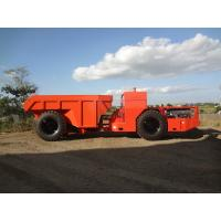 Buy cheap 7cbm Or 15 Tons Bucket Capacity Underground Mining Dump Trucks , RT-15 Low Profile Truck product