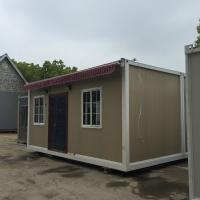 Buy cheap Traditional Frame Modern Prefab Steel Homes Fabrication With RW / EPS / PU Sandwich Panel from wholesalers