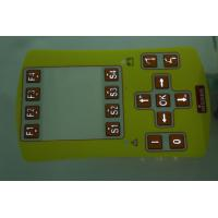 Buy cheap Led Push Button Membrane Switch With Rubber Keys , Membrane Keyboard Switches from wholesalers