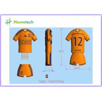 Buy cheap Personalized Customized USB Flash Drive TIGRES football team poolo shirt Cartoon USB memory from wholesalers