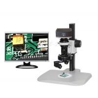 Buy cheap Digital Portable Zoom 3d Optical Microscope 1X C - Mount With LCD Touching Screen from wholesalers
