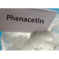 Buy cheap 99.6 Purity Pharmaceutical Grade Fenacetina Phenacetin white powder for Pain-Relieving from wholesalers