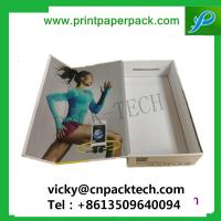 Buy cheap Custom Rigid One Piece Folding Set-up Box Cosmetic Box Luxury Garment Packaging Boxes Hair Extension Boxes from wholesalers