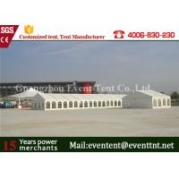 Buy cheap Glass Wall Panel Custom Sport Event Tent , Heavy Duty Tent With 600 Square Meters from wholesalers
