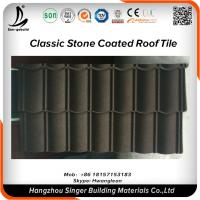 Buy cheap Roofing Material Natural Stone Chips Coated Metal Roofing Sheet Price from wholesalers