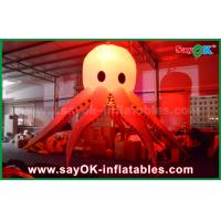 Buy cheap Giant Inflatable Lighting Decoration Sea Animal Lighting Octopus / Devilfish from wholesalers