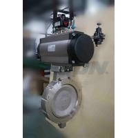 Buy cheap Industrial Bray Butterfly Valves With Switches / Solenoids & Positioners from wholesalers