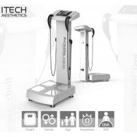Buy cheap Full Body Analyzer For Fitness GS6.5B Human Body Composition Analyser Professional Body Fat Analyzer product