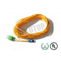 Duplex Fiber Optic Patch Cord 2F 2mm Single Mode For Metro / WANs
