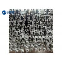 China Square Hollow Aluminum Extrusion Profiles 40*40MM Oxide Black Treatment on sale