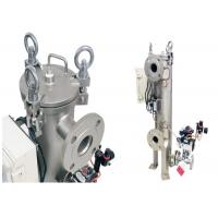 Buy cheap SS304/316 High Pressure Filter Housing Automatic Self Cleaning Back Wash Filter Housing from wholesalers