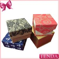Buy cheap Cheaper Paperborad Cardboard Paper Earring Ring Packing Presentation Gift Boxes from wholesalers