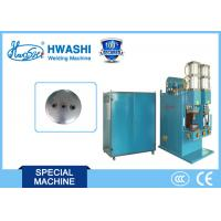 Buy cheap Auto Parts Welding Machine for Nuts on Air Tank Cover / Automobile Gasholder End Cover from wholesalers