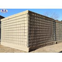 Buy cheap Geotextile Lined Defensive Barrier 300 GSM Blast Mitigation Customized Length from wholesalers