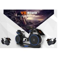 Buy cheap Amazing Interactive Virtual Reality Roller Coaster Simulator / VR Bike Racing Game Machine from wholesalers