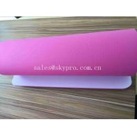 Buy cheap 5mm Pink High - technology Smooth Exercise Mat Custom Screen Printing Yoga Mats from wholesalers