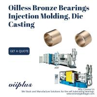 Buy cheap Oilless Bronze Groove Self Lubricating Bushing For Injection Molding , Die Casting from wholesalers
