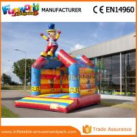 Buy cheap PVC Inflatable Fun Park Outdoor Inflatable Bouncer Castle Digital Printing from wholesalers