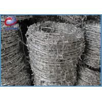 Buy cheap 50kg Per Roll 16x16Gauge Galvanized Double Twist Barbed Wire Anti Rust Sharp Wire from wholesalers