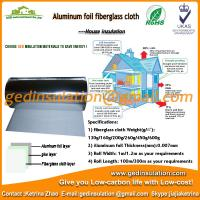 Buy cheap Hot sell energy saving aluminium composite fiberglass cloth heat insulation sheet from wholesalers
