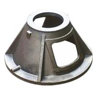 Buy cheap Custom GGG40 Material Ductile Cast Iron Parts Green Sand Casting Process product