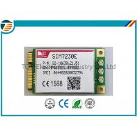Buy cheap PCIE Wireless 4G LTE Module From SIMCOM SIM7230E With MDM9225 Chipset 3.3V Small Size product