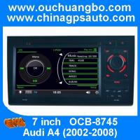 Buy cheap Ouchuangbo multimedia gps stereo navi for Audi A4 2002-2008 steering wheel control SD USB from wholesalers