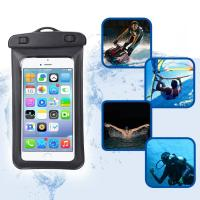 Buy cheap Amphibious Floatable Waterproof Phone Pouch Bag With Lanyard and Armband Strap For Swimming / Running from wholesalers