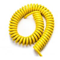 Buy cheap Shielded Spiral Power Cable With Outer PUR Sheath , Coiled Electrical Cable UL product