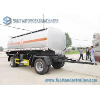Buy cheap International DoubleFull Axle 15000L Oil Tank Trailer Or Chemical Liquid from wholesalers